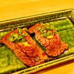 牛かつと和酒バル koda - カイノミ肉の握り