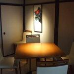 貴匠桜 MATTAKU - 夜は落ちついた個室風の雰囲気のなかゆっくりとお楽しみいただけます