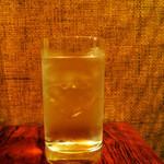 沖縄 肉酒場 ぬちぐすい - 泡盛の水割り