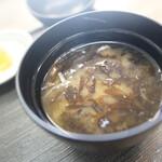 味鮮まえかわ - 海苔味噌汁