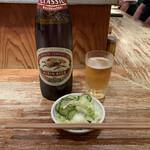 日本再生酒場 - 瓶ビールとお通し