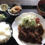 むちゃく - 牛サガリ炭焼定食=1000円 税込