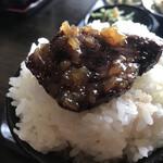 むちゃく - サガリ肉をオンザライス