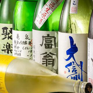 終電までの一人飲みも歓迎♪日本酒・生ビールでサク飲みもOK◎