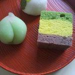 そえ田 - 6月の生菓子