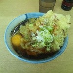 13311413 - 天ぷらそば+卵(380円)