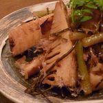 扇木 - 竹の子の醤油焼き