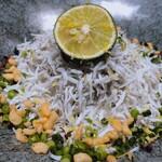 Shirasushokudoujakoyananadaimeyamari - ♦︎釜あげしらす丼 ¥1,045(税込み)