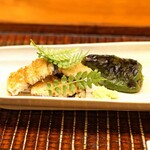 竹屋町 三多 - 熊本県産の海うなぎ と 田中とうがらし