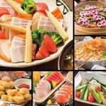 北の味紀行と地酒 北海道 - 2020年夏宴会コース