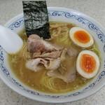 Soup - 塩+味付玉子
