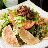 こうね - メキシコから来たサラダ¥650  タコスのようなサラダです!お子様にも人気の1品です。