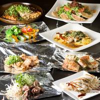 こうね - 飲み放題2時間付きお料理込みでお1人さま¥4000のコースがございます。(4名様より)お野菜、お肉などのお料理に〆には広島焼きで!!