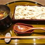 133120128 - 合鴨コーチン蕎麦きしめん(1,600円)