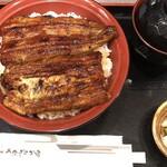 虎ノ門 うなぎのお宿 - 2020年7,8,9月限定の有楽丼2000円