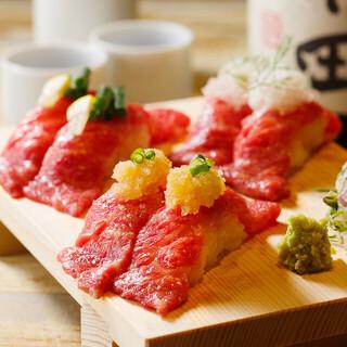 SNSで話題の炙り肉寿司食べ放題が2980円で楽しめます!