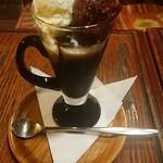 珈琲専門店 TOM  - コーヒーぜんざい¥700-
