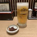 133128979 - きときとセット ¥1,290                        生ビール、白エビの天ぷら、ホタルイカの沖漬け、白えびせんべい