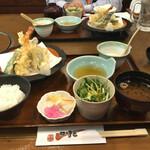 可児かまど - 天ぷらランチ 820円 税別