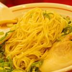 長浜屋台 やまちゃん - 細麺