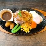 れんが亭 - 料理写真:れんがハンバーグ
