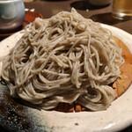 teppanyakitowashokuutage - 細めの二八蕎麦