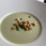 カフェ・ミケランジェロ - 豆のスープ