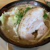 博多長浜ラーメン 夢街道 - 料理写真:からあげ定食   1100円 らーめんのトッピング(炒め野菜)+160円