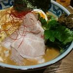 Ginzakazami - 酒粕濃厚そばアップ