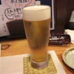 和食みやたけ - 生ビール
