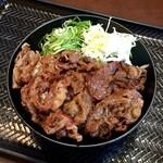 カルビ丼とスン豆腐専門店 韓丼 - カルビ丼(並)