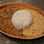 ブラン亭 - チキン&豆カレー