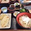 英ちゃんうどん - 料理写真:おろしぶっかけとざる蕎麦