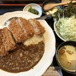 とんかつ・串揚げ 冨岳 - チキンカツカレー