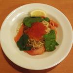 スパゲッティ食堂ドナ - イクラとサーモン