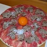 133163904 - 肉刺し トリュフプラチナユッケ