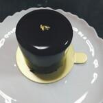 Patisserie Cache-Cache - 自分が食べたこのケーキは「ジャポネ」濃厚なチョコレートに柚子の風味が合います。