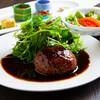 四季館 彩冬 - 料理写真:【ランチ】一番人気『霜降り前沢牛のハンバーグステーキ』