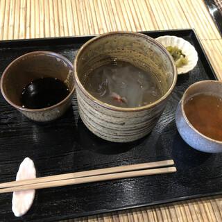 廣久葛本舗 - 料理写真:葛きり