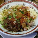 セアブラノ神 伏見剛力 - 料理写真:7月限定 夏のキーマカレーまぜそば950円