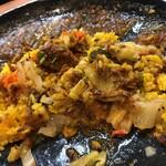 133177511 - スパイシーチキンカレー定食
