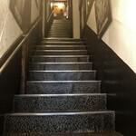 びすとろ 平 - 階段で3Fへ!