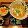 伊吹うどん - 料理写真:讃岐セット