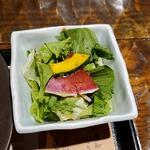 わらやき屋 - サラダ