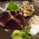 わらやき屋 - 藁焼きかつを定食