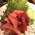 魚がし鮨 - マグロ切り落とし