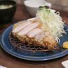tonkatsushokudoujukuton - 料理写真:超特上ロースかつ(200g)☆