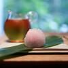 ゼンカフェ - 料理写真:上生菓子&ほうじ茶☆