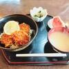 Benkyoutei - 料理写真:からりこセット!足利シューマイは後から来ますが充分豪勢な定食!