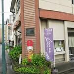 勉強亭 - JR足利駅からちょっと西。歩いてすぐです。